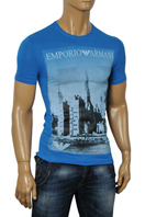 EMPORIO ARMANI Men's Fitted Short Sleeve Tee #62