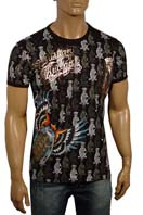 CHRISTIAN AUDIGIER Multi Print Short Sleeve Tee #25