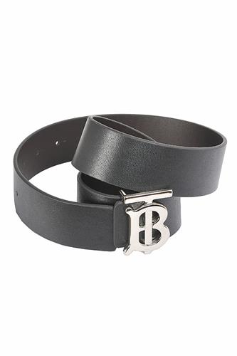 BURBERRY men's leather belt 60