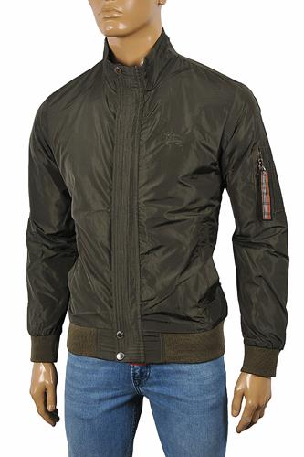 BURBERRY Men's Zip Up Jacket #49