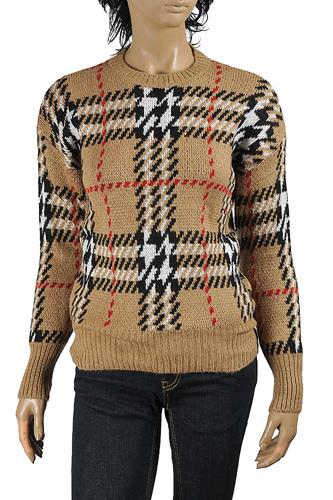 BURBERRY women's round neck knitted sweater 271