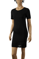 ROBERTO CAVALLI Short Sleeve Cotton Dress #243