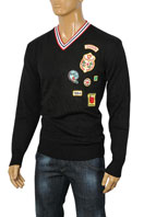 DSQUARED Men's V-Neck Knitted Sweater #1