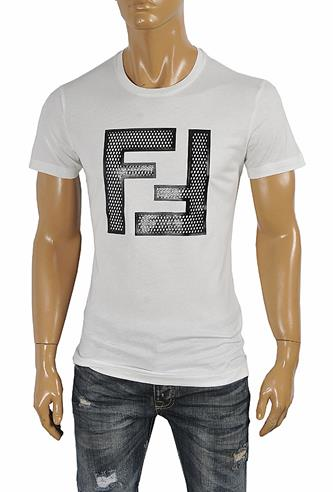 FENDI men's cotton T-shirt 27