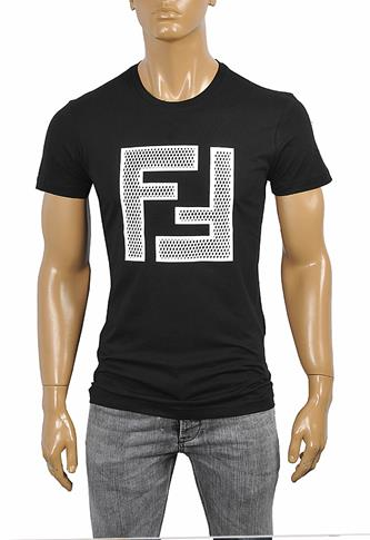 FENDI men's cotton T-shirt 28
