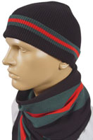 GUCCI Mens Hat/Scarf Set #65