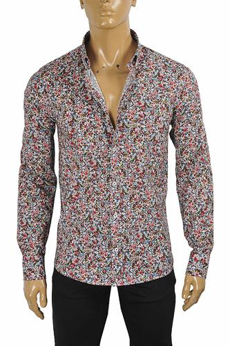 GUCCI Men's Liberty floral shirt 412