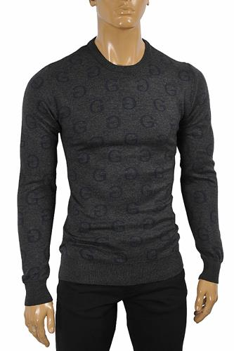 GUCCI men GG knitted sweater 116