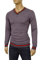 GUCCI Mens V-Neck Fitted Sweater #21