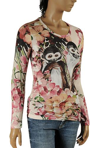 GUCCI Ladies Long Sleeve Top #341