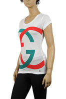 GUCCI Ladies Short Sleeve Top #82