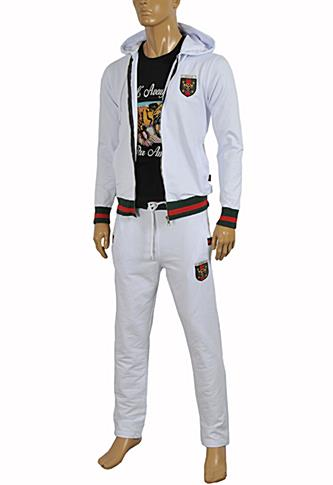 GUCCI Men's Zip Up Tracksuit #151