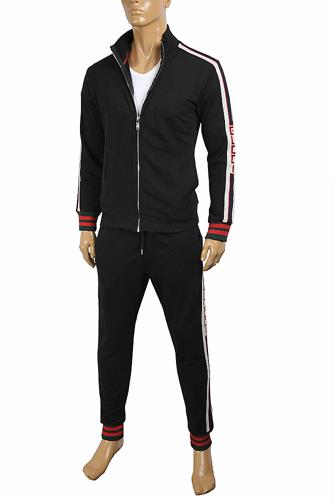 GUCCI Men's zip jogging suit 168
