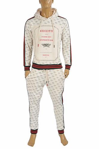 GUCCI Men's jogging suit with hoodie 170