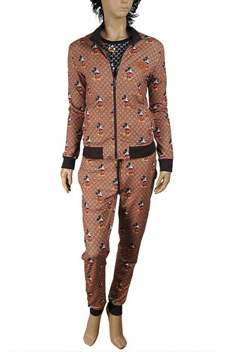 Disney x Gucci Mickey Mouse women's jogging suit 177