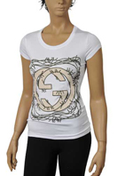 GUCCI Ladies Short Sleeve Tee #122