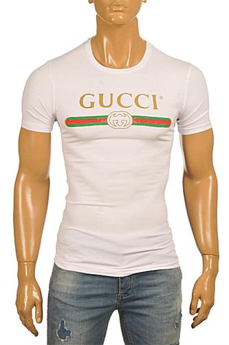 GUCCI Men's T-Shirt In White #208