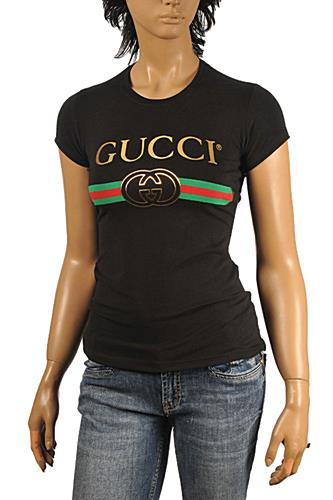 GUCCI Women's Fashion Short Sleeve Top #209