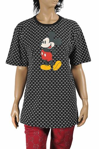 DISNEY x GUCCI women's T-shirt with front Mickey Mouse print 274