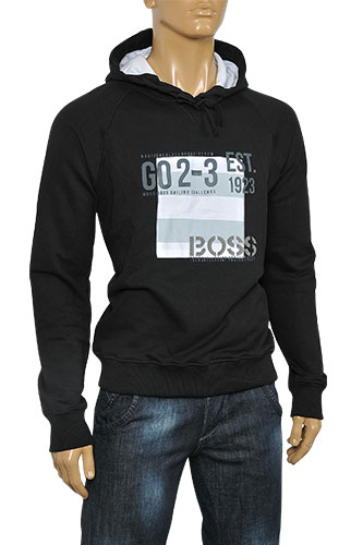 Mens Designer Clothes | HUGO BOSS Men's Cotton Hoodie #22