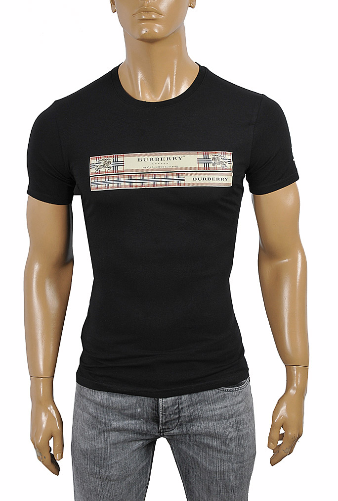 Mens Designer Clothes | BURBERRY Men's Cotton T-Shirt 253
