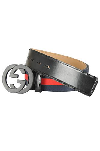 Mens Designer Clothes | GUCCI Men's Leather Belt #43