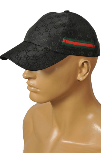 Mens Designer Clothes | GUCCI Men's Cap In Black #100