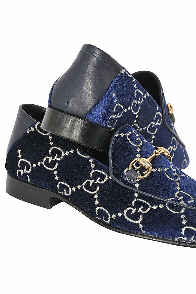 GG velvet Horsebit loafer Shoes 297