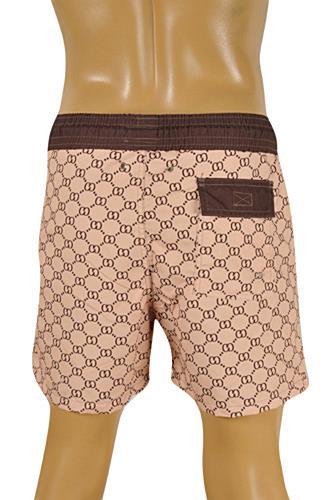 c0cb528b Mens Designer Clothes | GUCCI Logo Printed Swim Shorts for Men #66