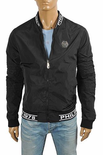 PHILIPP PLEIN men's bomber jacket 4