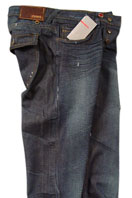 PRADA Mens Crinkled Jeans #12