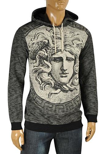 VERSACE Warm Knit Hooded Sweater #24