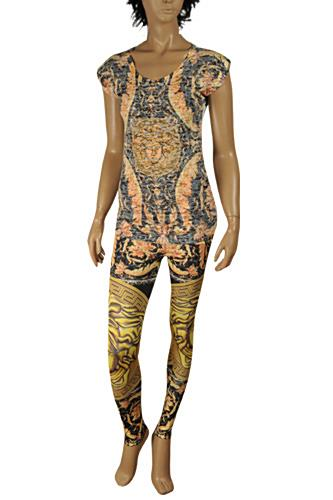 VERSACE Ladies' Leggings/T-shirt Suit Set #21