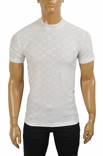 LOUIS VUITTON men's monogram t-shirt 8